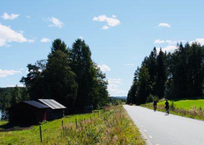 Cyklister på väg